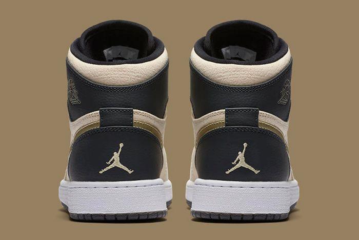 Air Jordan 1 High Prm Pearl Gold6