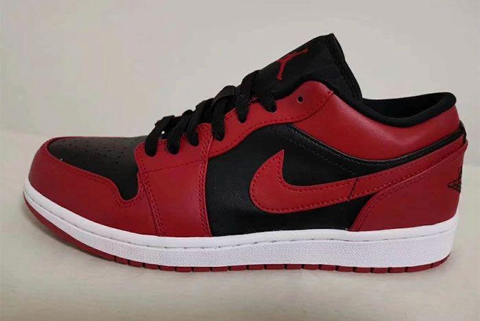 Air Jordan 1 Low Varsity Red Left
