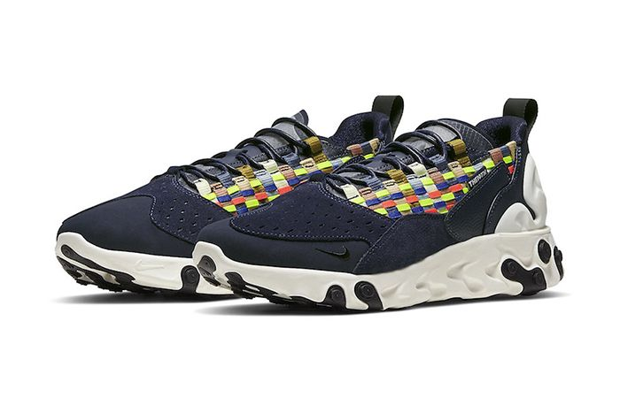 Nike React Sertu Blackened Blue At5301 400 Release Date Pair