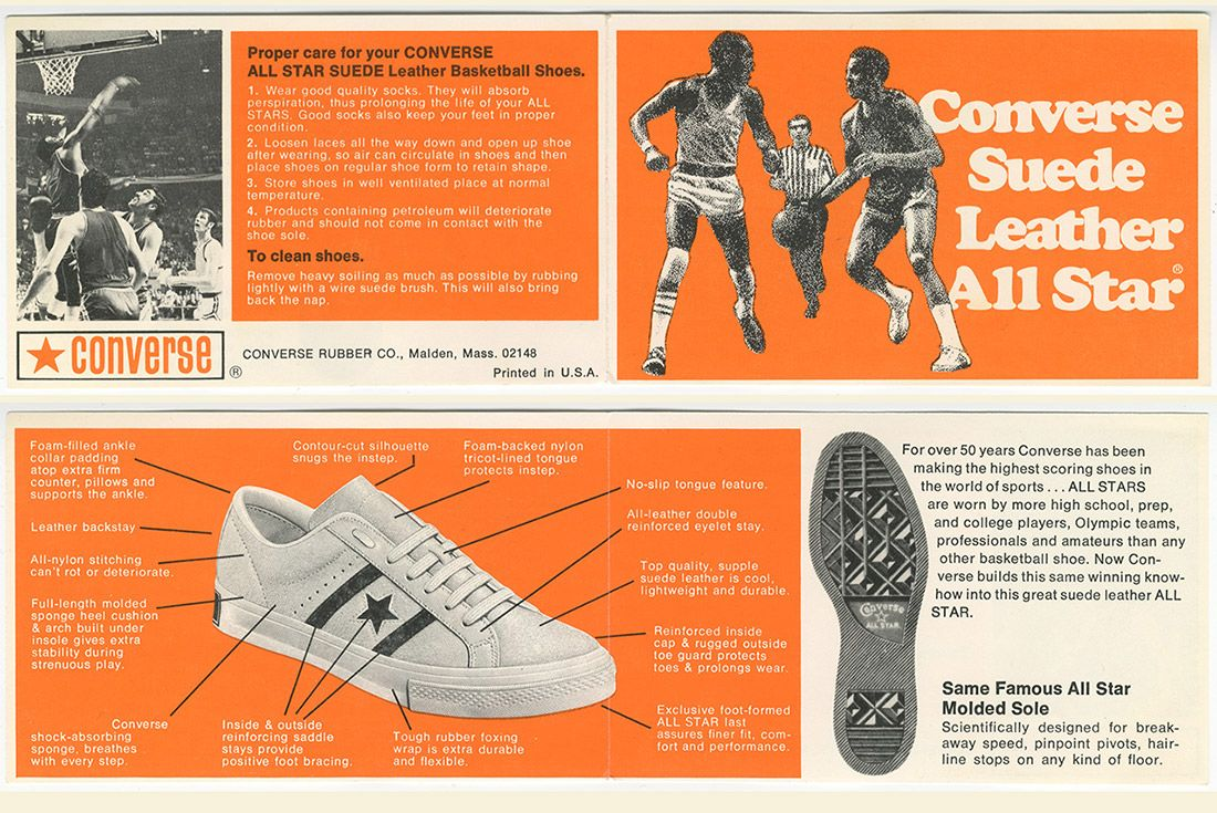 History Of Converse One Star Advertisement 2
