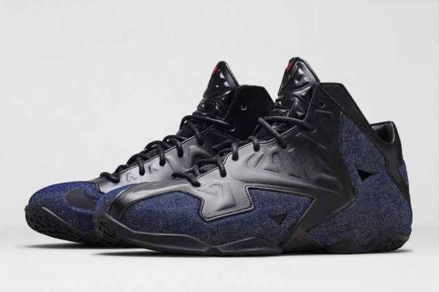 Nike Lebron 11 Ext Denim 6