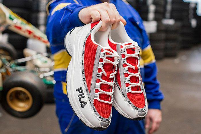 Filas Dstr97 Red Close Up