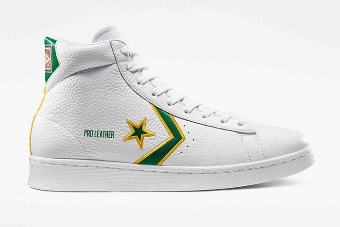 Breaking Down Barriers Boston Celtics Pro Leather £85