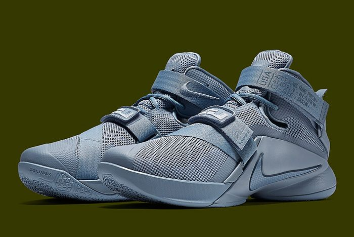 Nike Lebron 9 Soldier Military Matte 6