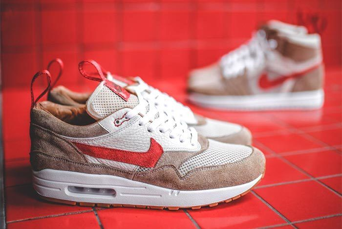 Chase Shiel Air Max 1 Mars Yard Custom 5