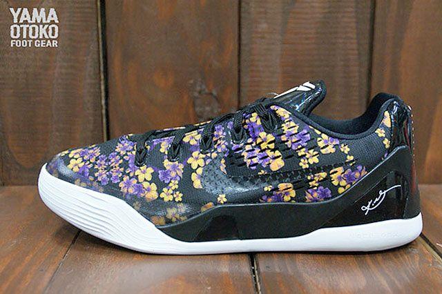 "Nike Kobe 9 Low Em "" Floral"" 4"