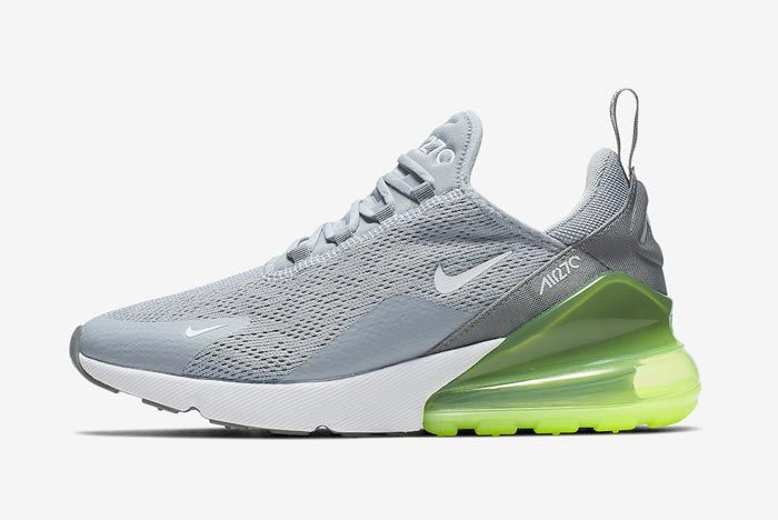 Nike Air Max 270 Womens Lime Blast Lateral