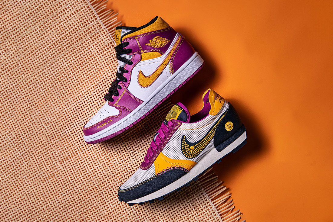 A Detailed Look at the Nike Daybreak and Air Jordan 1 Mid 'Día de ...