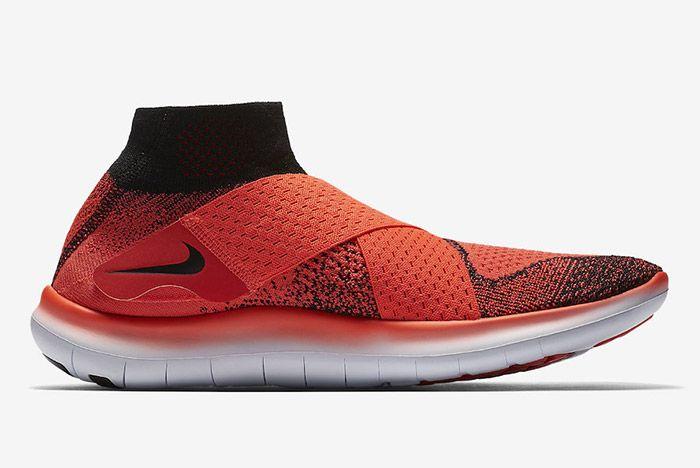 Nike Free Rn Motion Flyknit 2017 Crimson 4