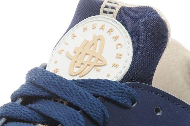 Nike Huarache Navy Green 04