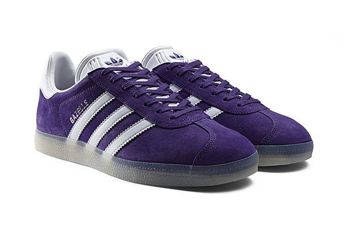 Adidas Gazelle Leather Iced Pack Unity Purple 1