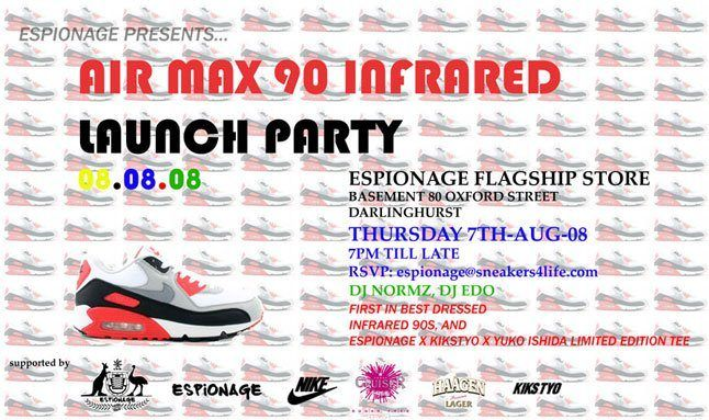 Espionage Infrared Release Party 1