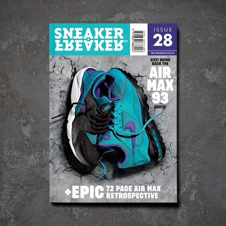 Sneaker Freaker Issue 28 Cover Size Airmax