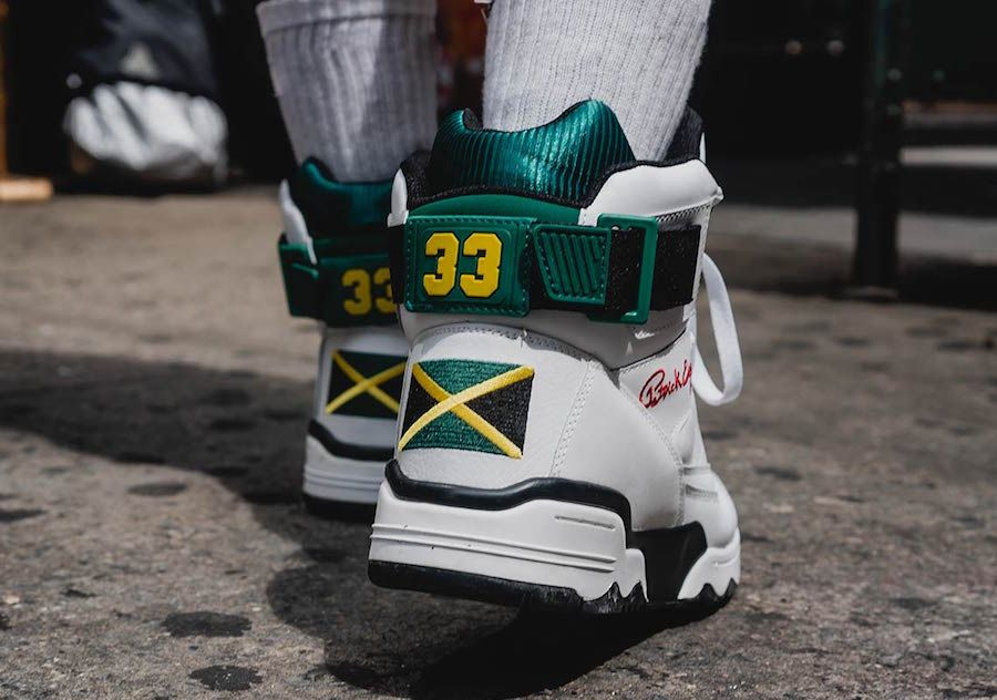 Ewing 33 hi Jamaica Heel