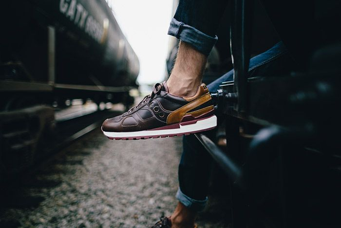 Wolverine Saucony Shadow Original Horween Leather 7