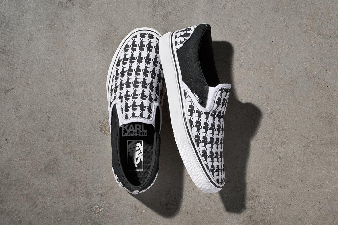 Karl Lagerfield X Vans Collection 1