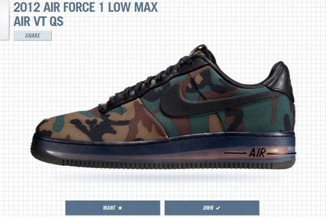 1Thology Leaderboard Air Force 1 Low Max Nike 1