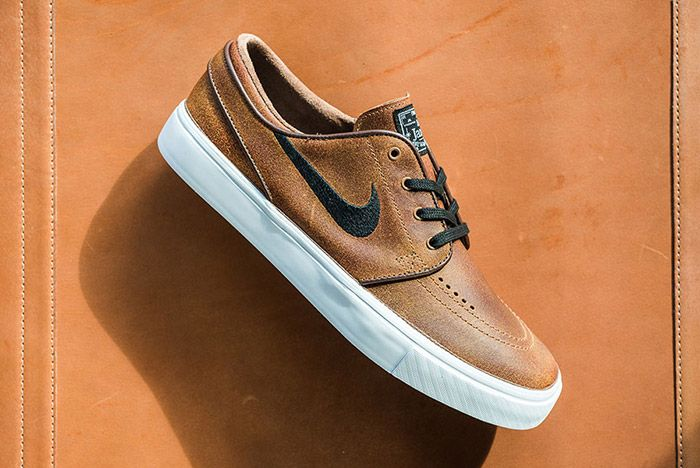 Nike Sb Stefan Janoski Ale Brown Leather 5