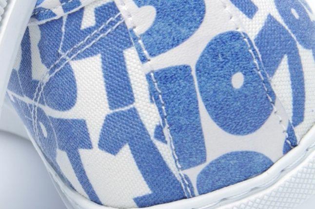 Comme Des Garcons Shirt X The Generic Man Print Sneaker Heel 1