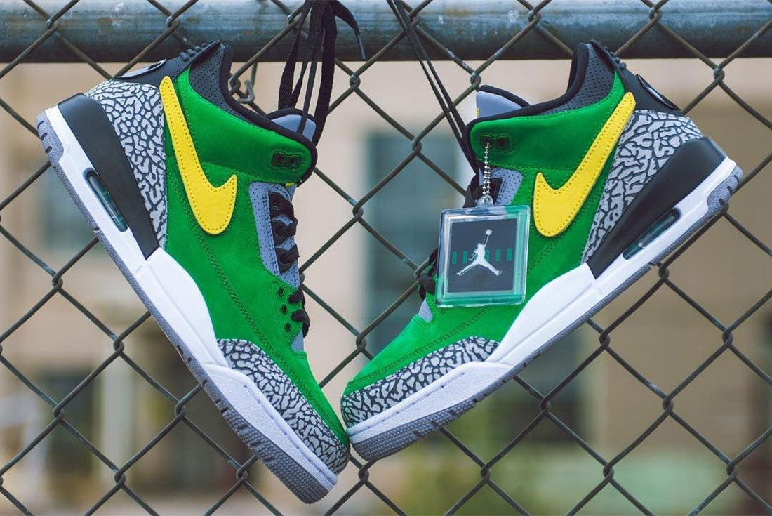 Oregon Ducks Air Jordan 3 Th Pe 1