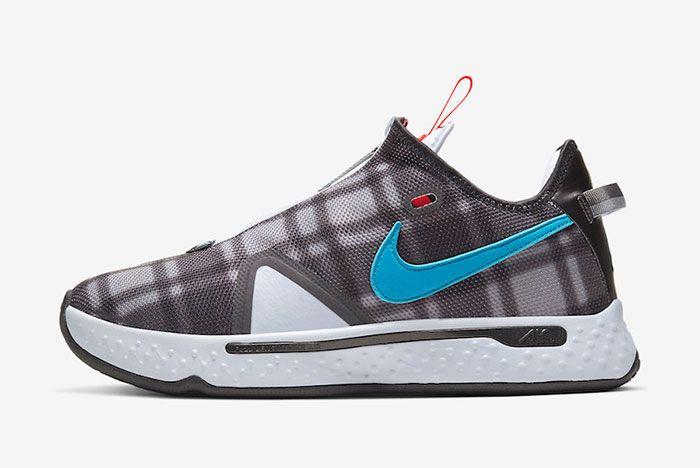 Nike Pg 4 Plaid Cd5079 002 Lateral