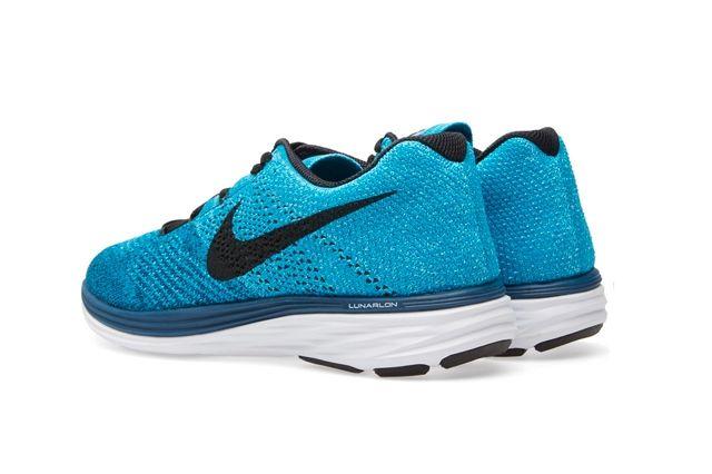 Nike Flyknit Lunar 3 Brave Blue 3