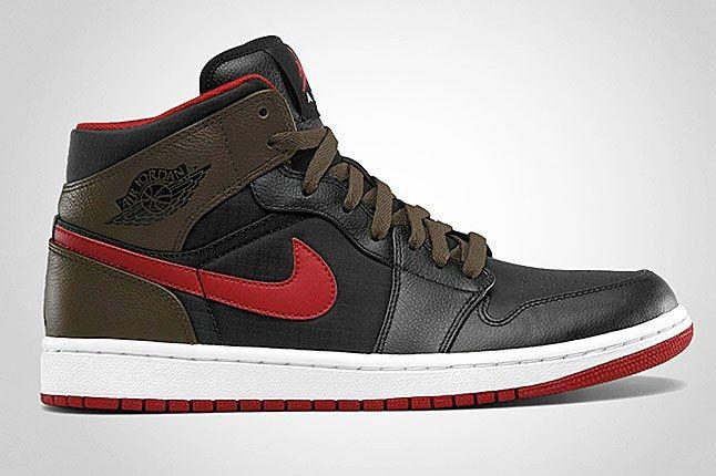 Air Jordan 1 Light Olive 1