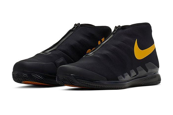 Nike Air Zoom Vapor X Glove Black Gold Aq0568 001 Release Date Pair