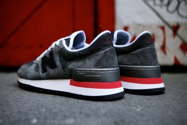 New Balance 990 Made In Usa Charcoal Grey 8
