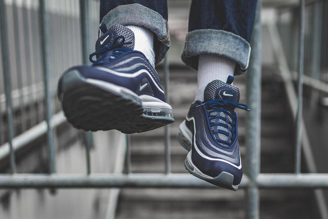 Nike Air Max 97 Ultra Midnight Navy Blue 3