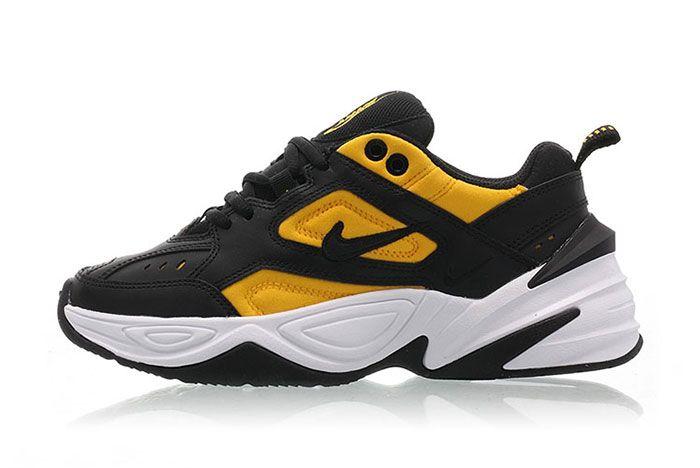 Nike M2 K Tekno Black University Gold Ao3108 014 Release Date Side