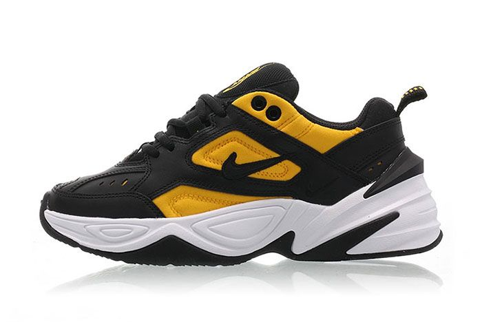 Nike M2 K Tekno Black University Gold Ao3108 014 Release Date Side