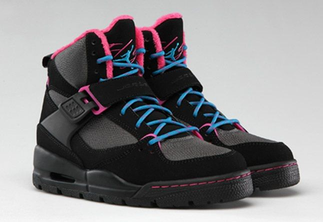 Jordan Flight 45 Hi Premium Dynamic Blue Black Vivid Pink 1