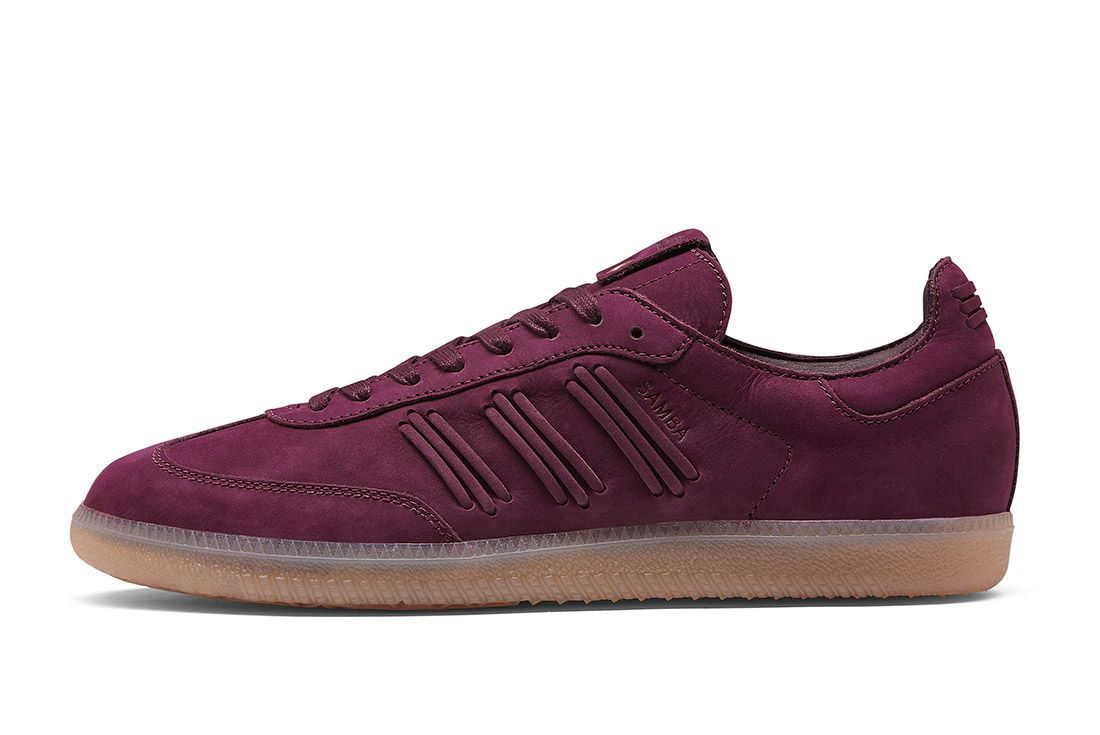 Adidas Consortium Womens Samba Deep Hue Pack Purple 3