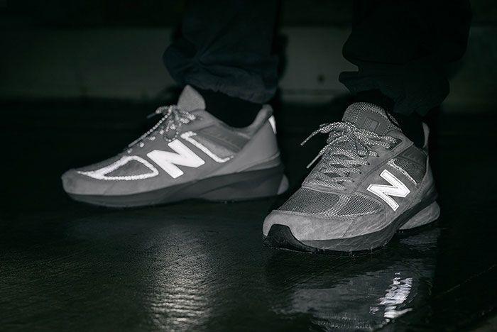 Haven New Balance M990Rg5 On Foot Night