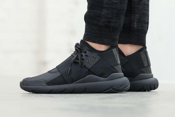 Adidas Y 3 Qasa Elle Lace Black Carbon4