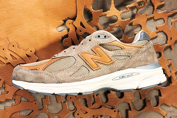 Todd Snyder New Balance 990V3 Dark Ale 4 Side
