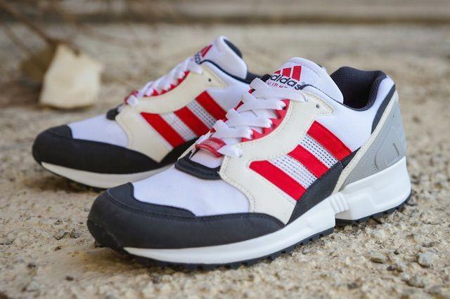 Adidas Eqt Running Cushion 92 White Red Thumb