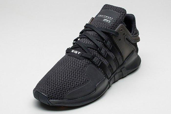 Adidas Eqt Adv Support Triple Black 6