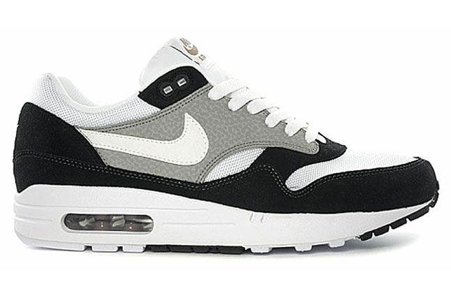 Nike Air Max 1 Black White Grey Summer 2012 01 1