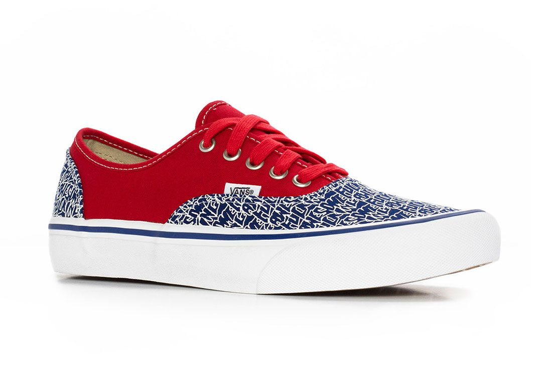 Fucking Awesome Vans Authentic 2 Red Side