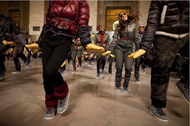 Moncler Native Flashmob 4 1
