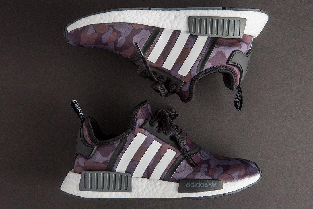 Bape Adidas Nmd 1 St Camo Black 4