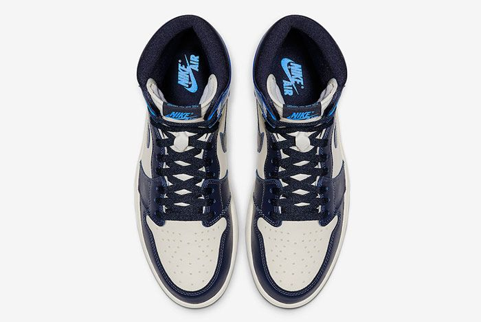 Air Jordan 1 Obsidian University Blue Top
