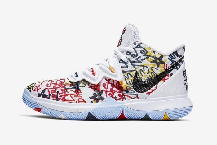 Nike Kyrie 5 Keep Sue Fresh Lateral