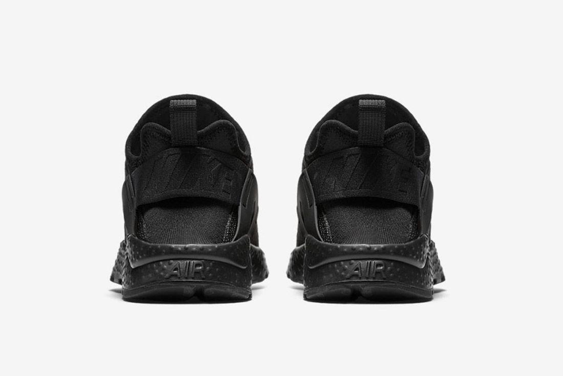 Nike Huarache Premium Womens Beautiful Powerful Black 1