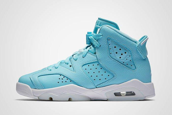Air Jordan 6 Pantone Blue Gs Thumb