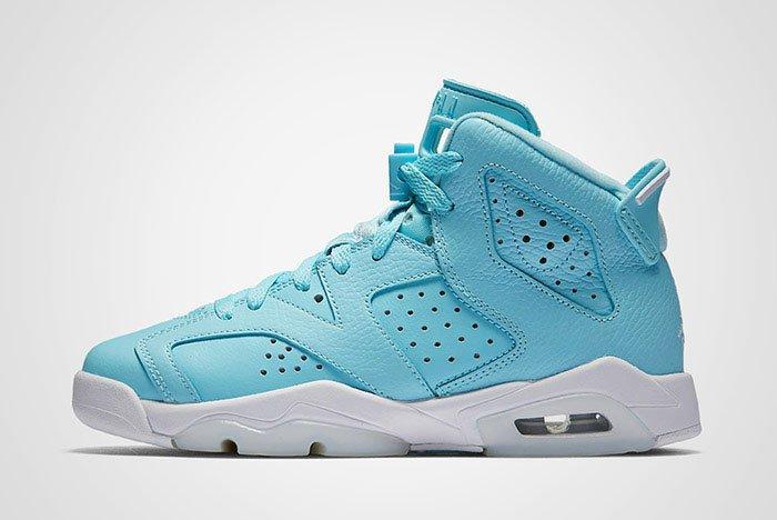 Air Jordan 6 Pantone Blue Gs Thumb