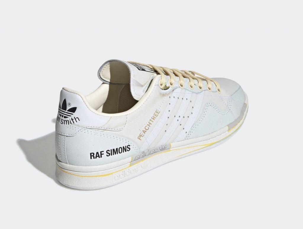raf simons adidas stan smith on white