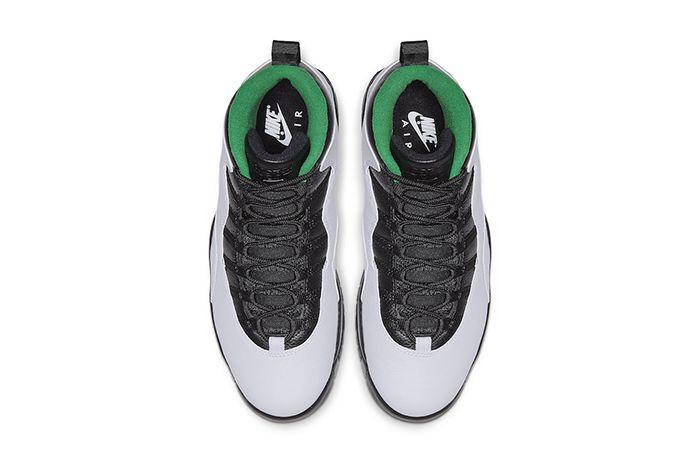 Air Jordan 10 Seattle 310805 137 Release Date Top Down